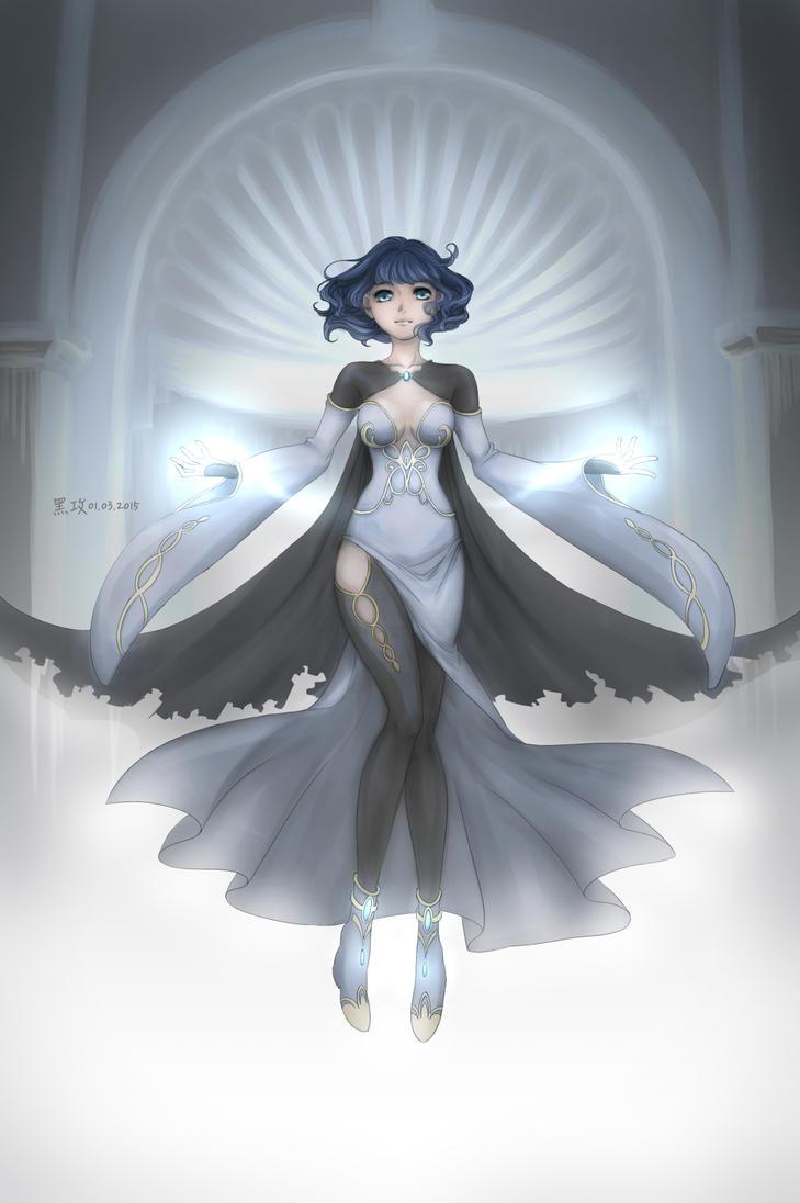 ArtWork01: Sorceress by aj100gogogo