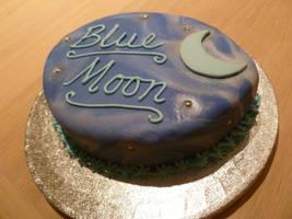 Mini Blue Moon by Rebeckington