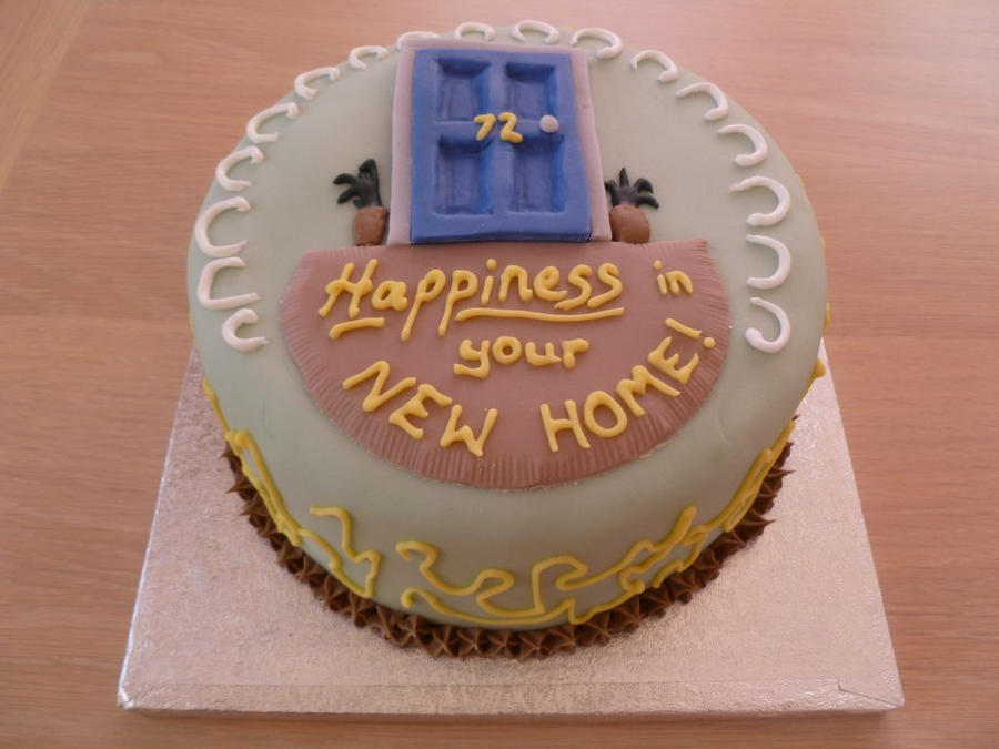Cake Decorations New Home : New Home Cake by Rebeckington on DeviantArt