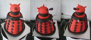 Dalek Cake - Multiple view