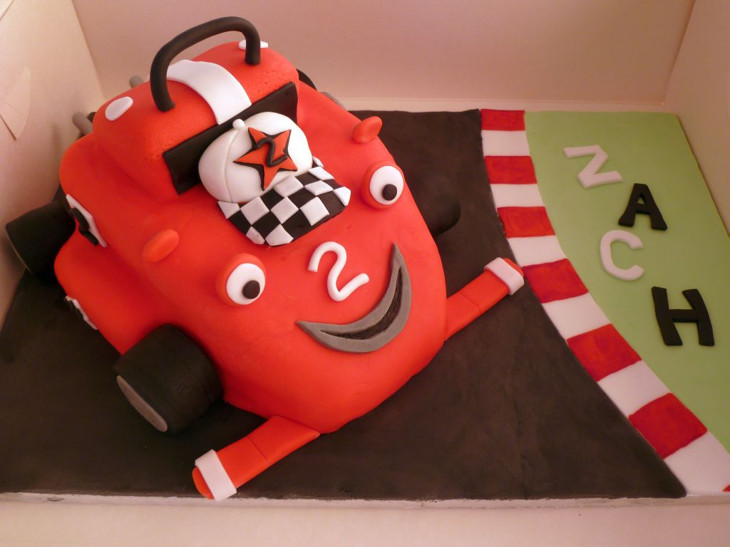 Roary the Racing Car Cake by Rebeckington on DeviantArt