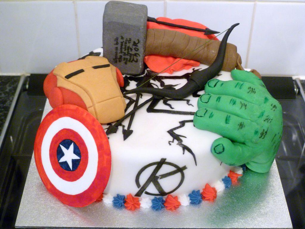 Buy Marvel Birthday Cake