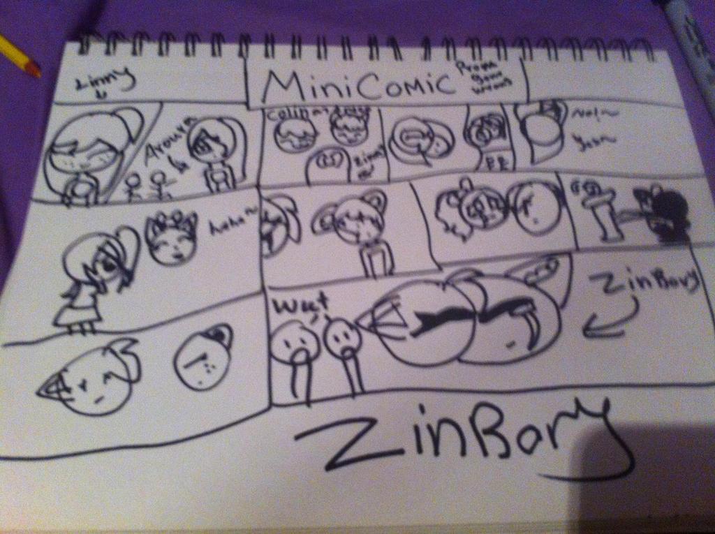 Zinny X Aurora Comic []Zinrory[] by MlpBaseMakers2017