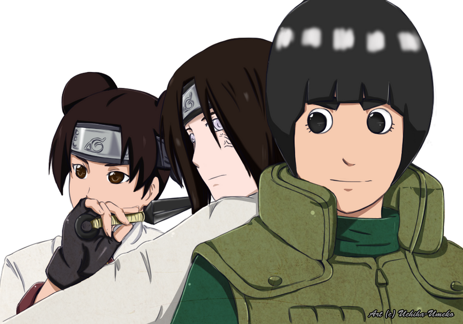 Team Gai by Uchiha-Umeko