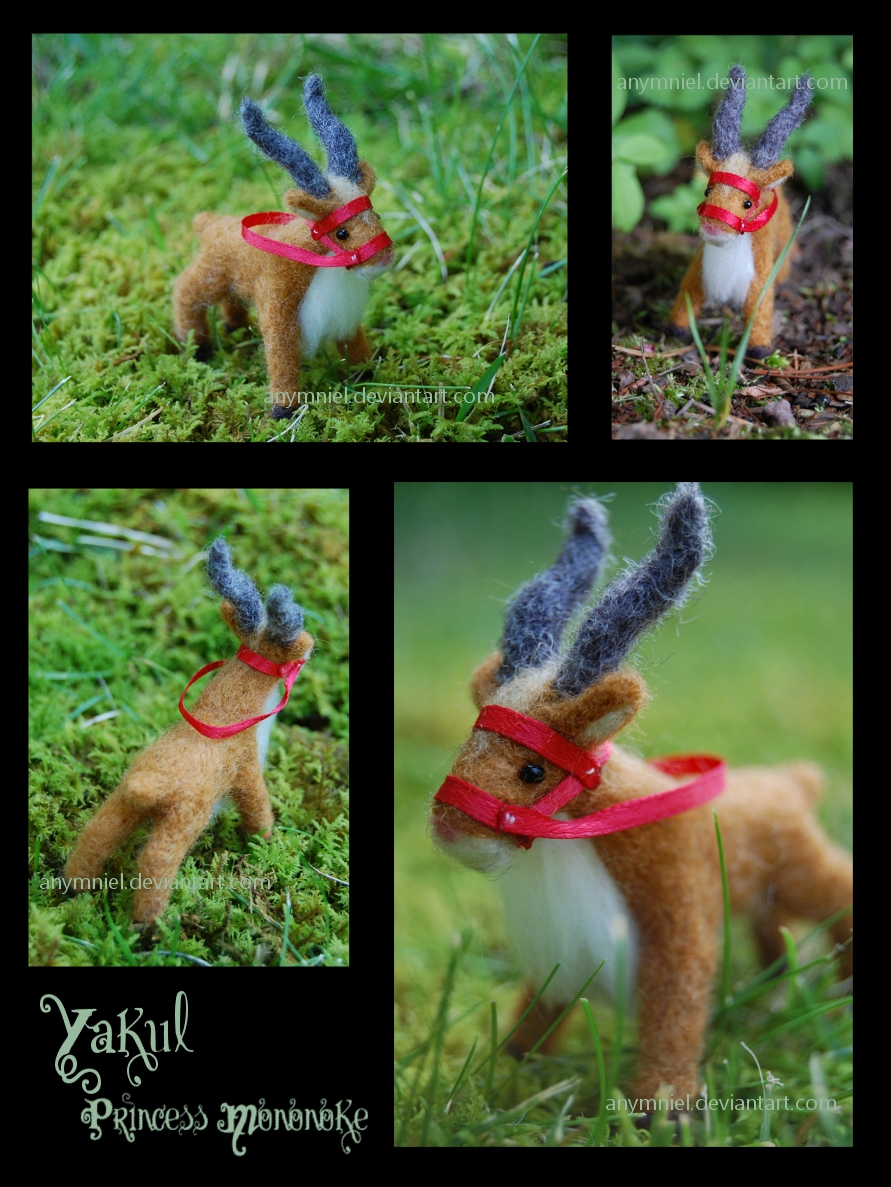 needlefelted yakul by heyemilyann on DeviantArt
