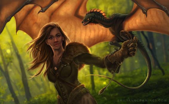 gamekeeper aurali, half-elf ranger extraordinaire