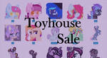 Toyhouse Sale~ (characters added) by StarGazer-143