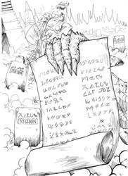 Scroll of Perdition by shinkatana
