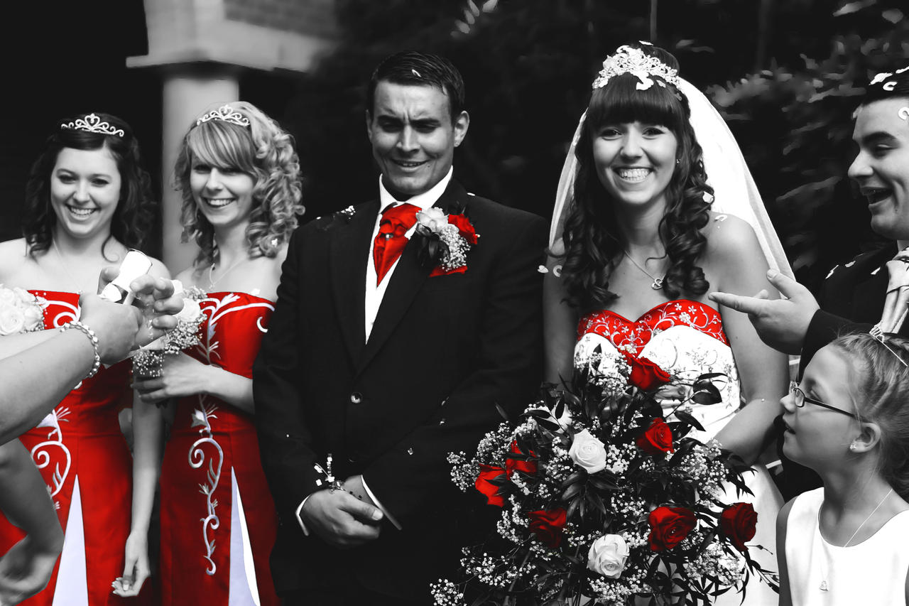 Black White And Red Wedding By JadeGreenbrooke On DeviantArt