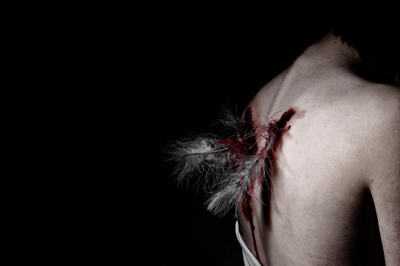 Broken angel. by JadeGreenbrooke