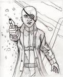 Nick Fury Genderbent WIP