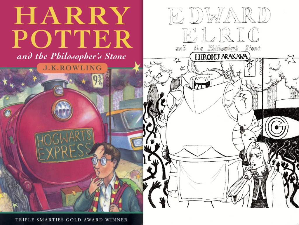Harry VS Edward: Philosopher's Stone by Broken-Endings