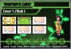 Inori/Buki's Trainer Card by DreamNotePrincess