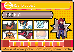 Mal's Legendary Pokemon Card 2 by DreamNotePrincess