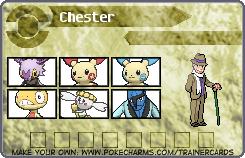 Chester's Pokemon Card 2 by DreamNotePrincess