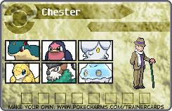 Chester's Pokemon Card 3 by DreamNotePrincess