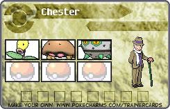 Chester's Pokemon Card 5 by DreamNotePrincess