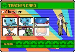 Chester's Legendary Pokemon Card by DreamNotePrincess