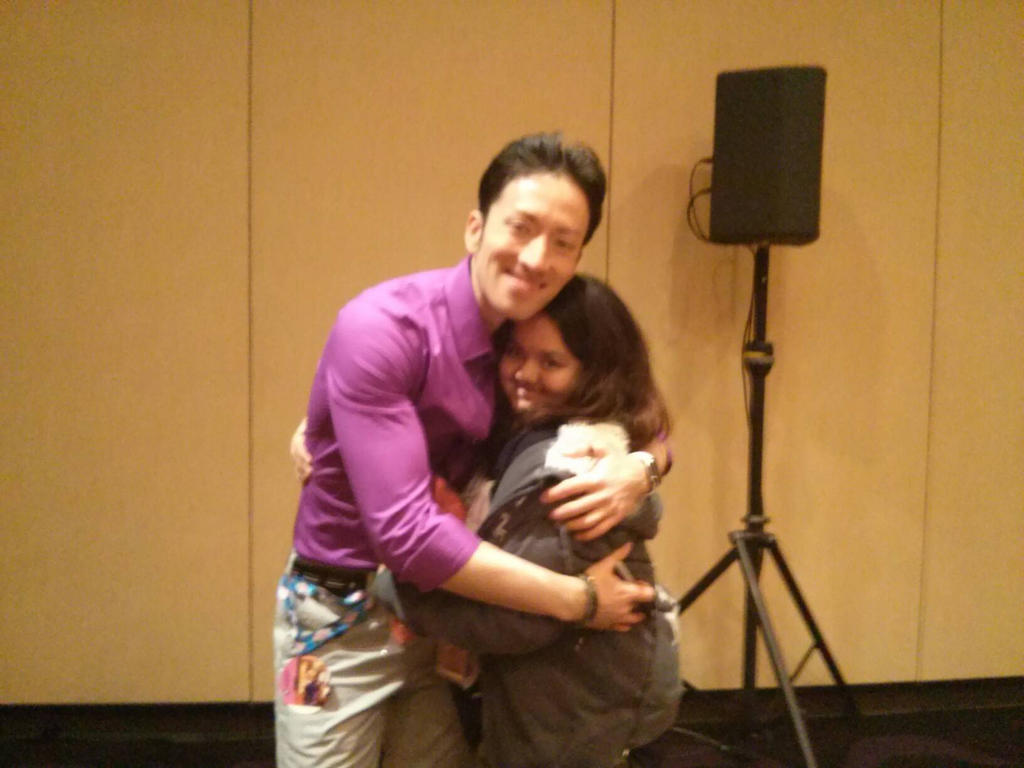 Me and Todd Haberkorn  by DreamNotePrincess