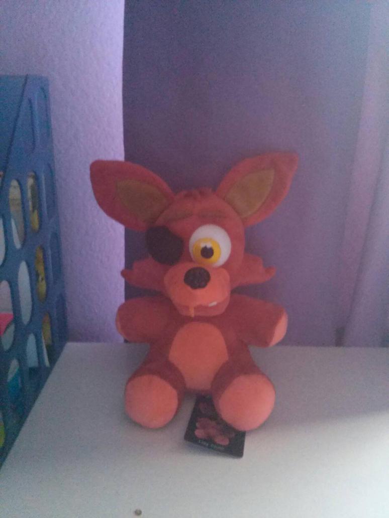 My Foxy Plush  by DreamNotePrincess