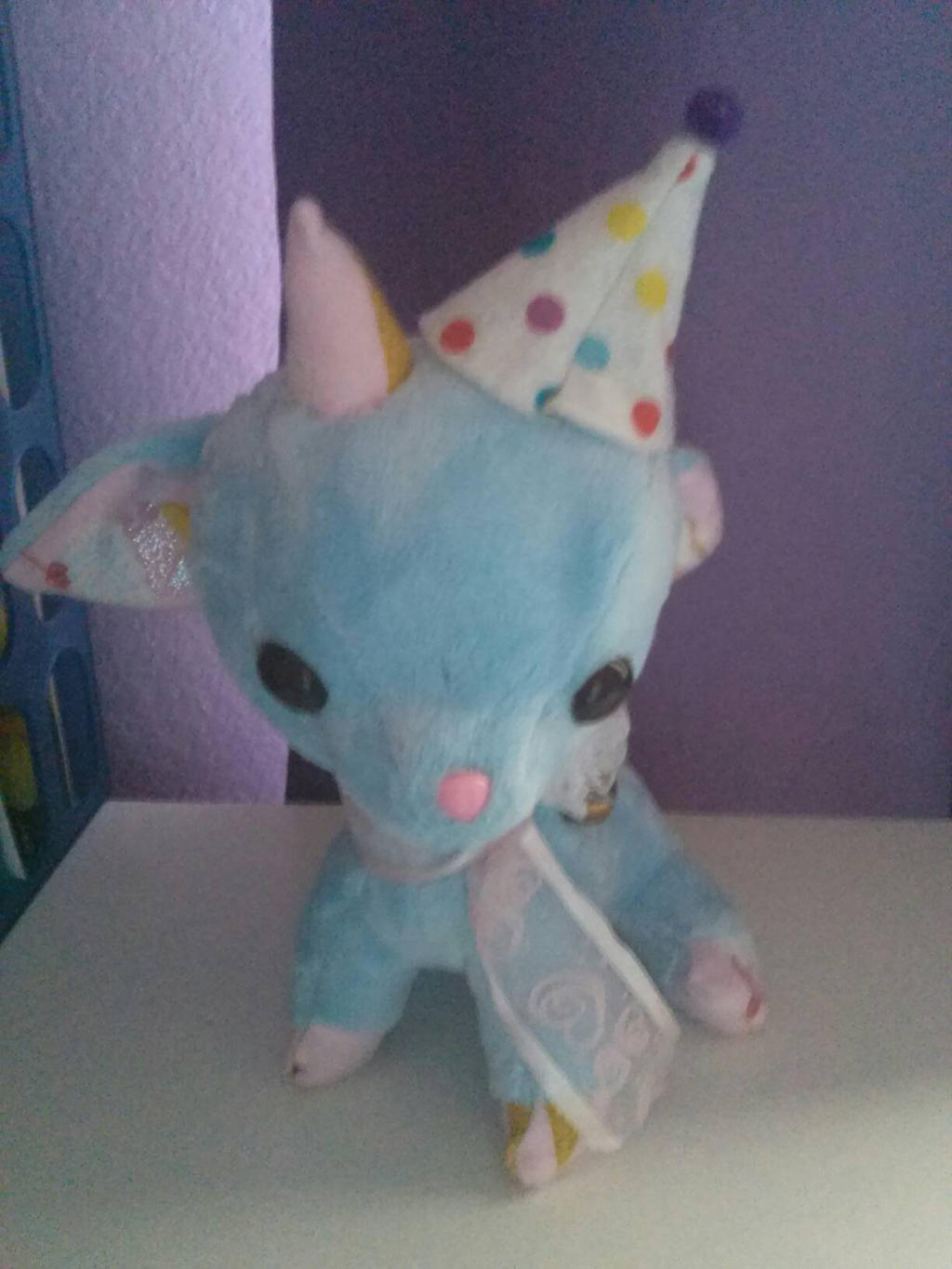 My 2nd plush by DreamNotePrincess