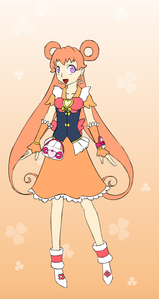 HaChaOC: Aika/Cure Orchid by DreamNotePrincess