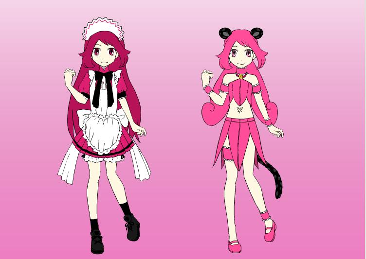 TTM OC: Passion Misumi/Mew Mew Passion by DreamNotePrincess