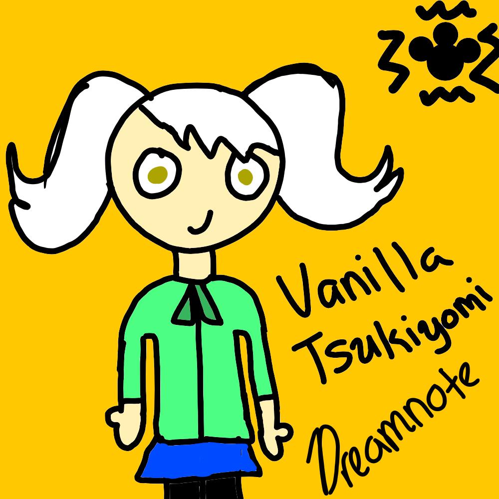 TMM OC: Vanilla Tsukiyomi by DreamNotePrincess