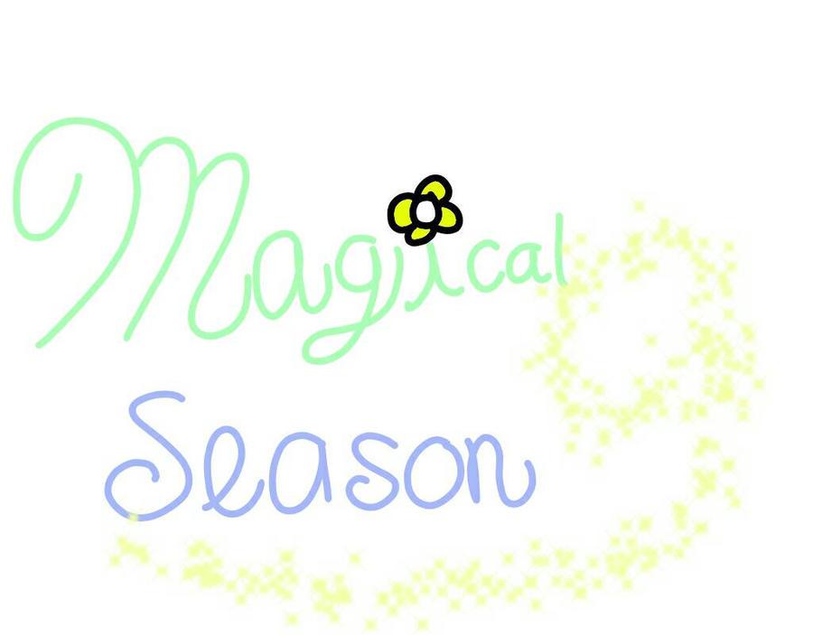 Magical Season Logo  by DreamNotePrincess