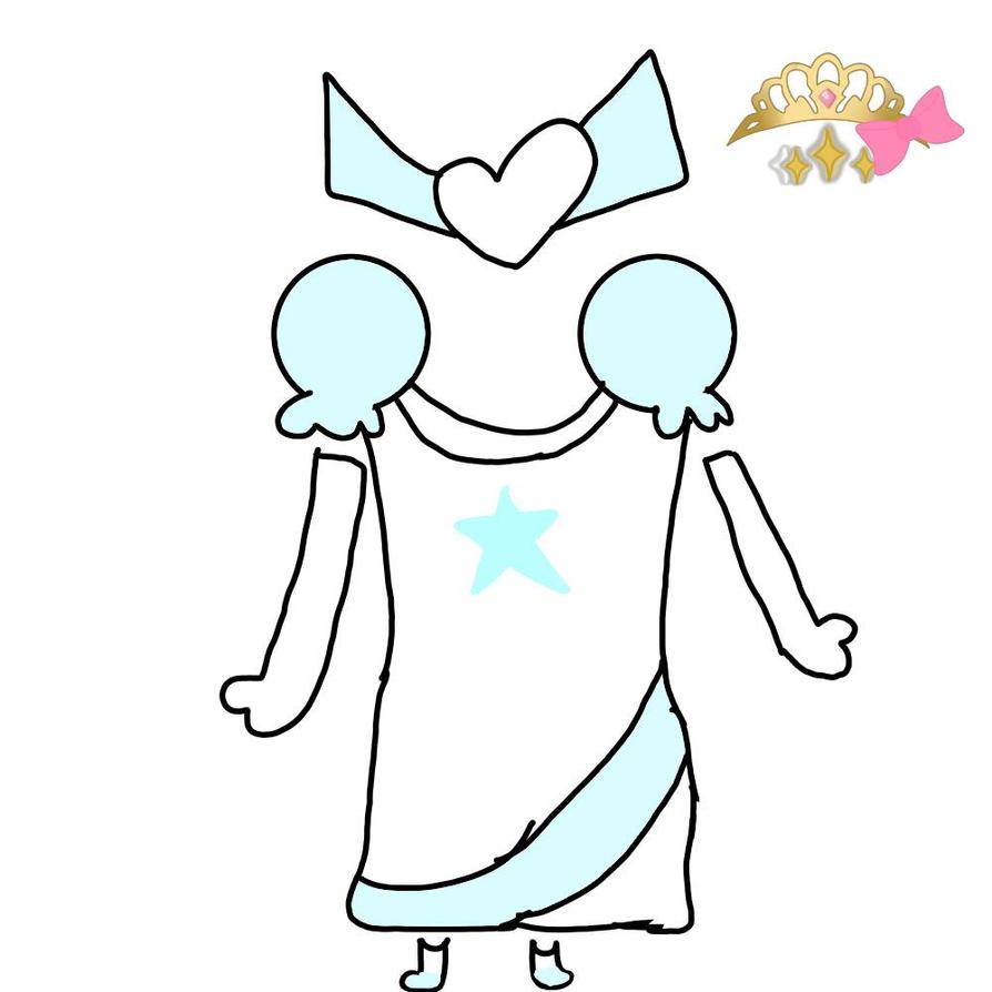 PDA: Snowflake Dress Coord  by DreamNotePrincess