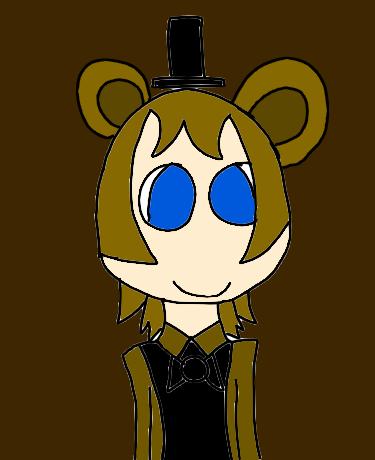 Human Freddy (My DS) by DreamNotePrincess