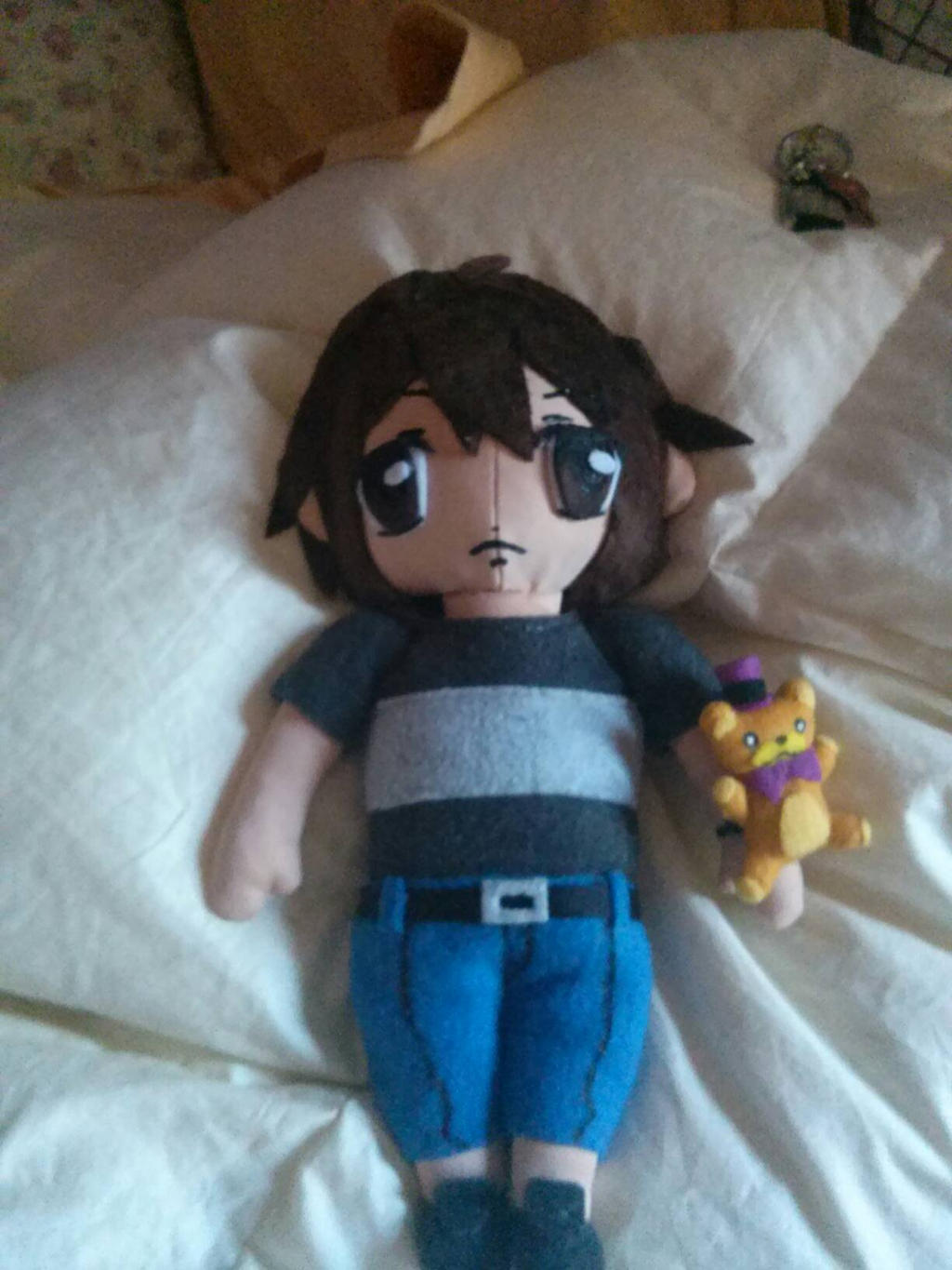 My Alex Plush by DreamNotePrincess