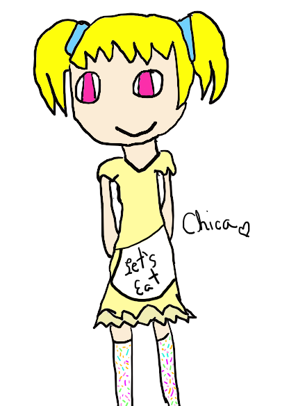 Chica  (My DS) by DreamNotePrincess