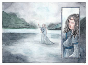 Lady of the Lake by DrawnSeawards