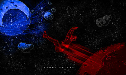Lost in space by soran0kalary