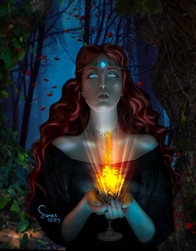 fantasy #My_artwork by soran0kalary