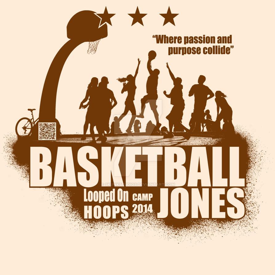 basketball camp tshirt design 2 by skunkstudios on deviantart