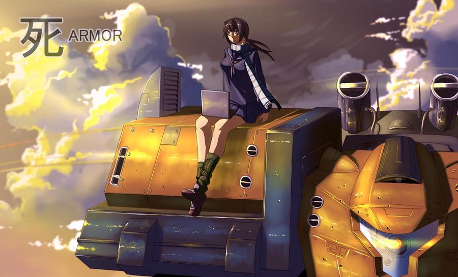 Shinda Armor by Deathdy666