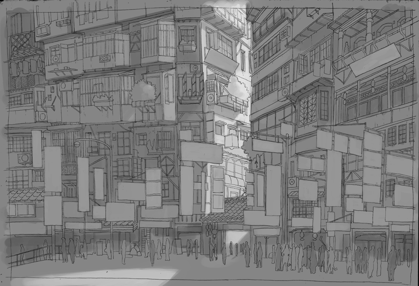 China Townwip 1 by D-dy