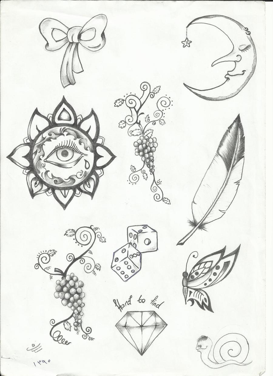 Tattoo Flash Line Drawing Converter : Tattoo flash by sasan ghods on deviantart