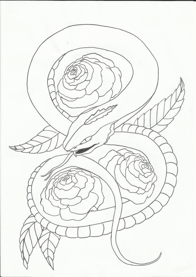 2730 best Best 3D Tattoo Ideas images on Pinterest ... |Snake Tattoo Sketches