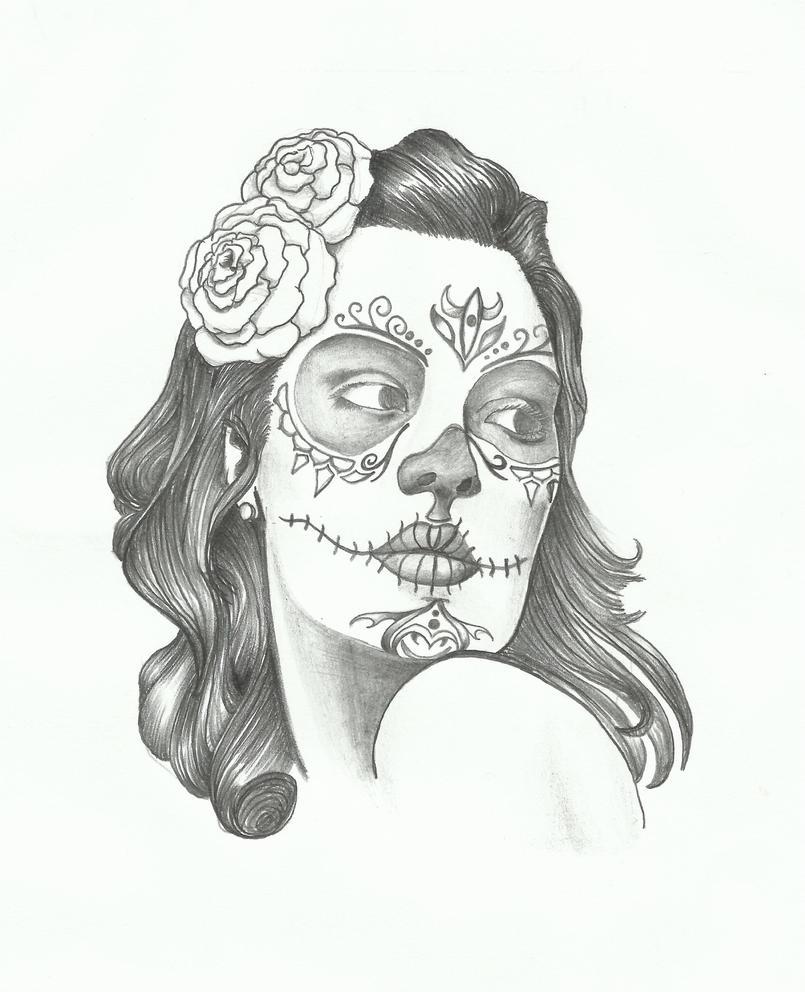 Skull Boned Lady By Sasan ghods On DeviantArt