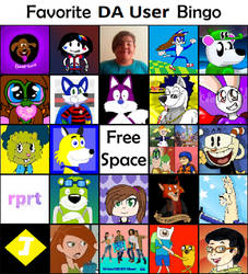 My Deviantart User Bingo