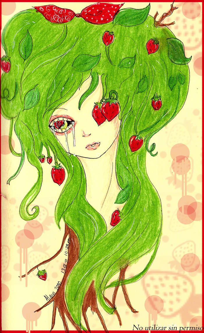 Mata de fresas by Teru-misaki