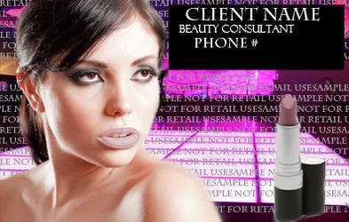 Cosmetic Ad Sample