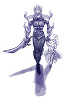 REQUEST - Cecil from FF4 by Palidoozy