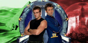 Two doctors in space and time