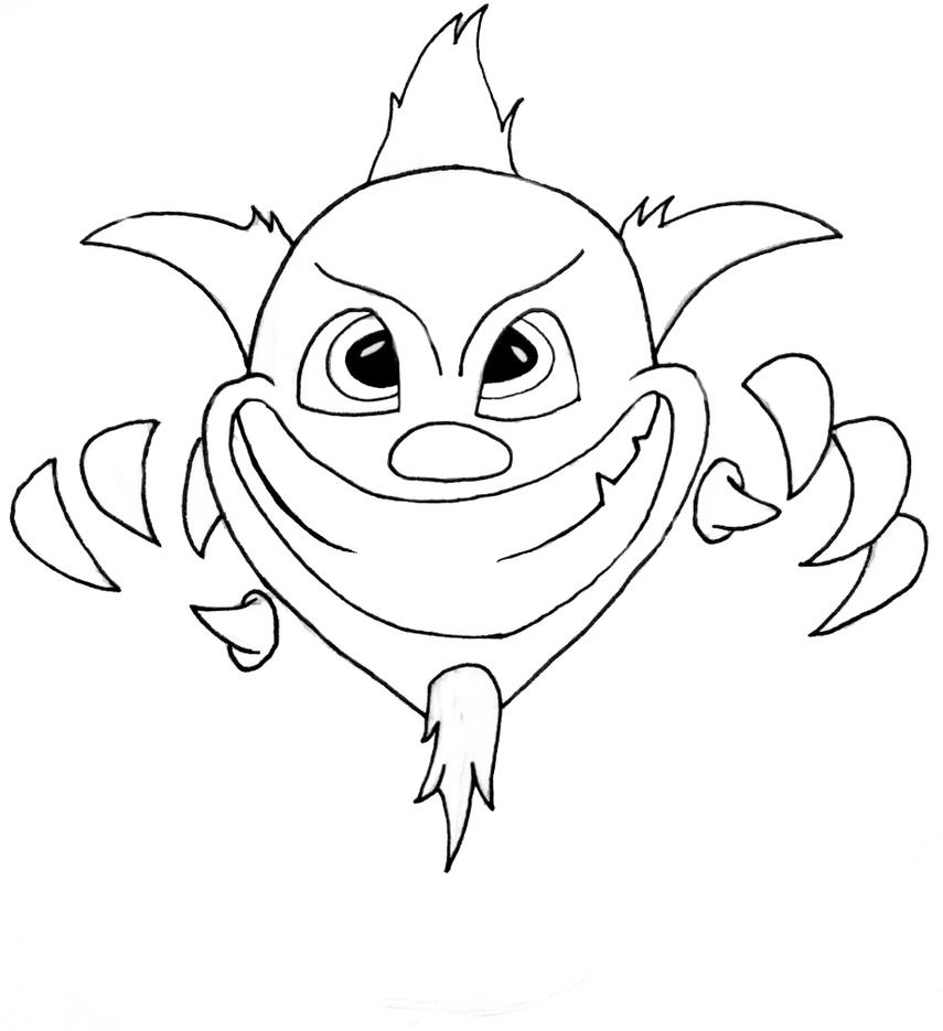 Evil Jester Face Drawings