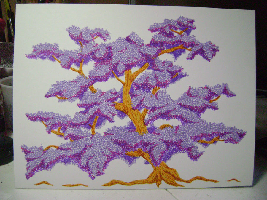 Lilac Tree by Marla-chan