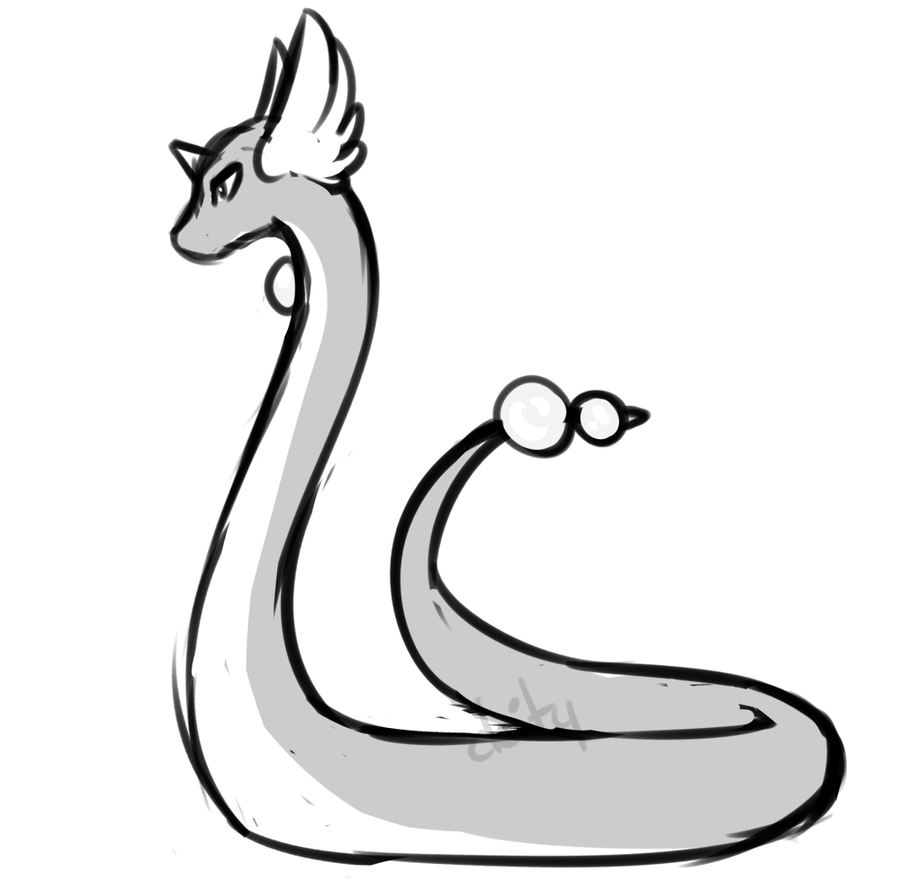 majestic snake dragon thing by catitty on DeviantArt